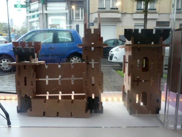 Le château Ardenne Toys, une gamme 100% belge élue Jouet de l'Année: idée cadeau pour les Haricots dès 5 ans!